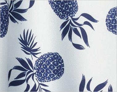 FB4548U FACEMIX アロハポロシャツ(パイナップル)(男女兼用) 南国をイメージさせるパイナップル柄