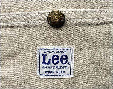 LCK79002 Lee ウエストエプロン(男女兼用) Leeのロゴとオリジナルボタン