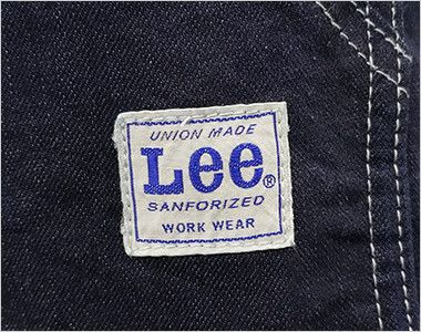 LCK79003 Lee 胸当てエプロン(男女兼用) Leeオリジナルロゴ