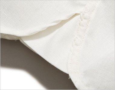 LCS43003 Lee シャンブレーシャツ/長袖(女性用) Lee独特のガゼット(マチ付き)