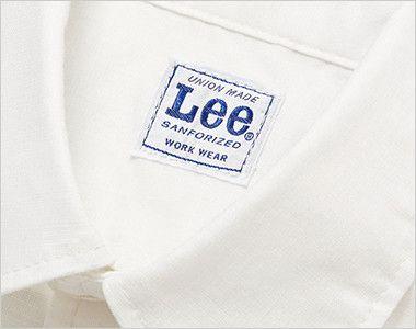 LCS46003 Lee シャンブレーシャツ/長袖(男性用) Leeワークウェアオリジナルネームタグ付き
