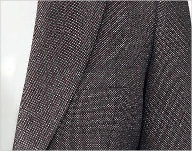 BONMAX LJ0164 [通年]エミュ ペッパーツイード素材ジャケット チェック ポケット付き