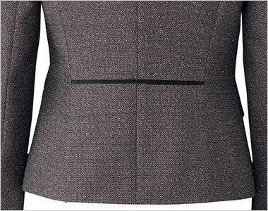 BONMAX LJ0164 [通年]エミュ ペッパーツイード素材ジャケット チェック 腰高に見えるバックスタイル