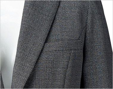 BONMAX LJ0165 [通年]プリエール ジャケット グレイのラメ入りツイード ポケット付き