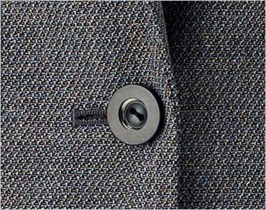 BONMAX LJ0165 [通年]プリエール ジャケット グレイのラメ入りツイード ボタン部分