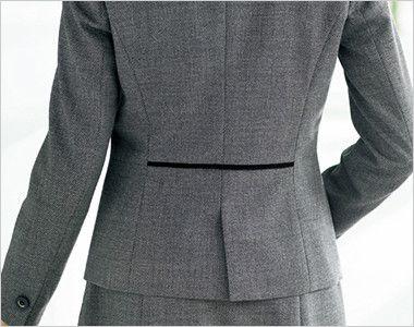 BONMAX LJ0165 [通年]プリエール ジャケット グレイのラメ入りツイード 後センターベンツ