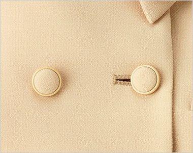 [在庫限り/返品交換不可]BONMAX LJ0167 [通年]カルム ロールカラージャケット 無地 ボタン部分