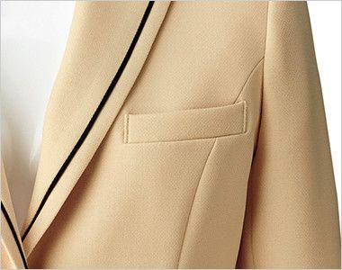 [在庫限り/返品交換不可]BONMAX LJ0168 [通年]カルム ジャケット 無地 ポケット付き