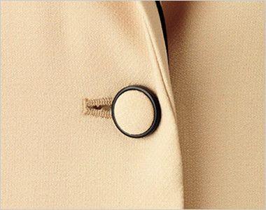 [在庫限り/返品交換不可]BONMAX LJ0168 [通年]カルム ジャケット 無地 ボタン部分