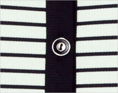 [在庫限り/返品交換不可]LJ0755 BONMAX/ホライズン ライトジャケット ボーダー ボタン部分