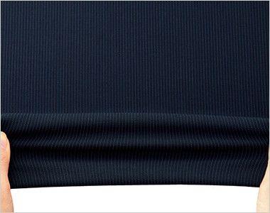 BONMAX LJ0762 [春夏用]レジェール 七分袖テーラードジャケット ストライプ 伸縮性のあるストレッチ素材