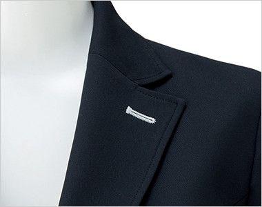 BONMAX LJ0763 [春夏用]イルマーレ 七分袖テーラードジャケット 無地 ホワイトのフラワーホール