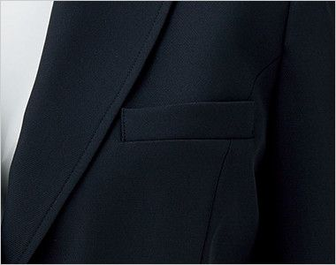 BONMAX LJ0763 [春夏用]イルマーレ 七分袖テーラードジャケット 無地 ポケット付き