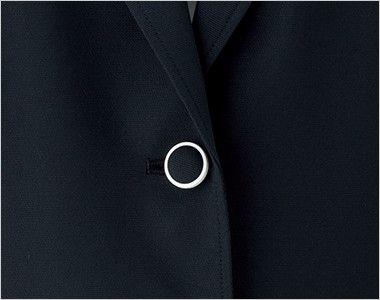 BONMAX LJ0763 [春夏用]イルマーレ 七分袖テーラードジャケット 無地 カラーのボタンホール