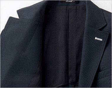 BONMAX LJ0763 [春夏用]イルマーレ 七分袖テーラードジャケット 無地 裏地の背抜き
