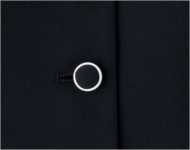BONMAX LJ0765 [春夏用]イルマーレ オーバーブラウス(リボン付き) 無地 くるみボタン