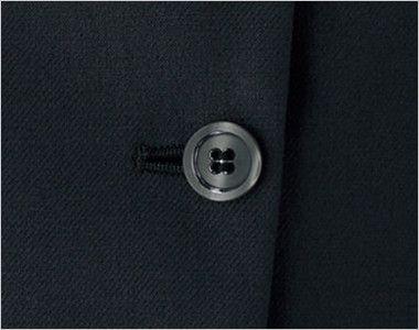 BONMAX LJ0766 [春夏用]グランツ オーバーブラウス ボーダー ボタン部分