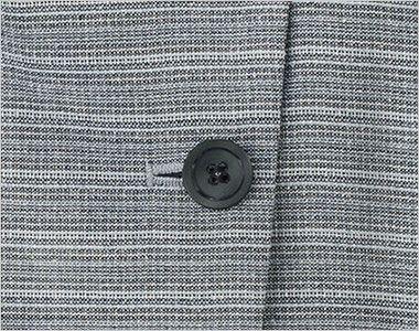 BONMAX LJ0767 [春夏用]グランツ オーバーブラウス ボーダー ボタン部分