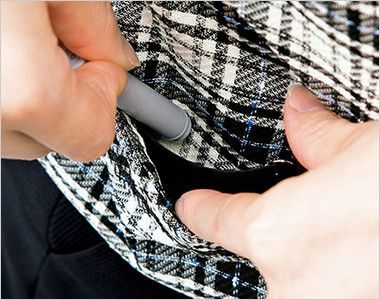 BONMAX LV1168 [通年]リール ベスト チェック 挟み込みポケット(右側小分けポケット付き)