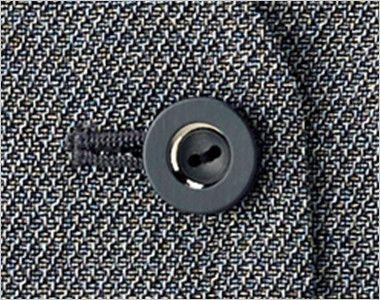 BONMAX LV1174 [通年]プリエール ベスト ツイード ボタン部分