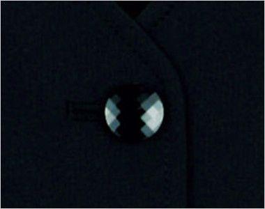 LV1736 BONMAX/フレキシー ニットベスト 無地 ボタン部分