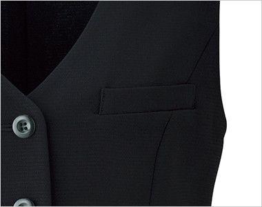 LV1739 BONMAX/ベルタ ベスト 無地 ポケット付き