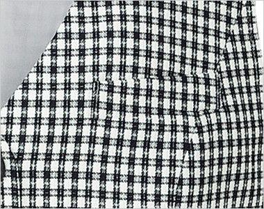 BONMAX LV1740[春夏用]アミティエ ベスト チェック ポケット付き