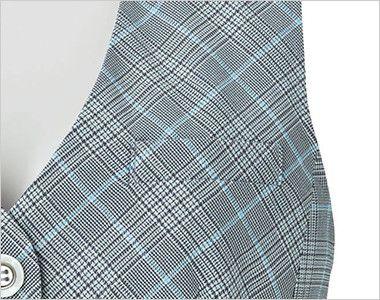 BONMAX LV1749 [春夏用]プラティーヌ ベスト チェック ポケット付き