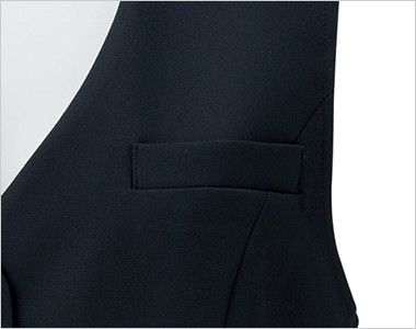BONMAX LV1752 [通年]イルマーレ ベスト 無地 ポケット付き
