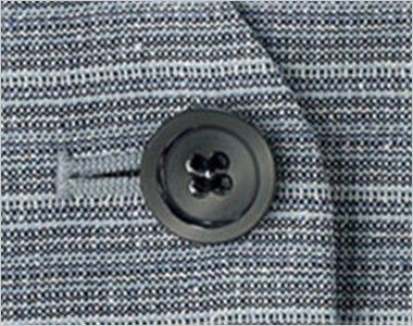 BONMAX LV1753 [通年]グランツ ベスト ボーダー ボタン部分