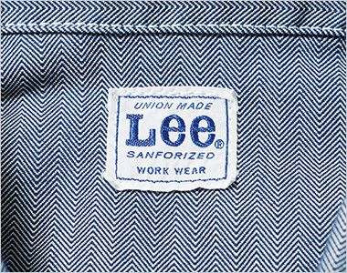 Lee LWB03001 ジップアップジャケット(女性用) Leeワークウェアオリジナルブランドネームタグ