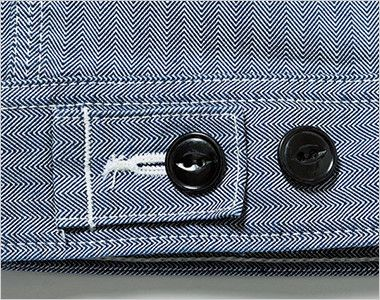 Lee LWB03001 ジップアップジャケット(女性用) 調節可能なボタン付き