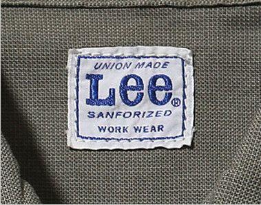 Lee LWB03002 [通年]ジップアップジャケット(女性用) Leeワークウェアオリジナルブランドネームタグ