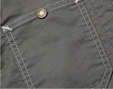 Lee LWB03002 [通年]ジップアップジャケット(女性用) ボタン付き