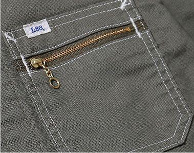 Lee LWB03002 [通年]ジップアップジャケット(女性用) ジッパー付き