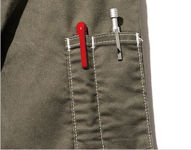 Lee LWB03002 [通年]ジップアップジャケット(女性用) 左袖