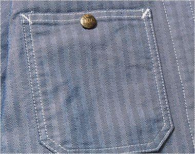 Lee LWB06001 ジップアップジャケット(男性用) ボタン付きのポケット