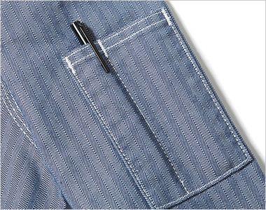 Lee LWB06001 ジップアップジャケット(男性用) ペン挿しポケット