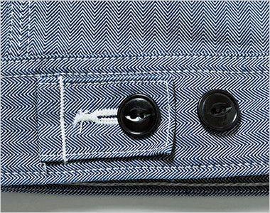 Lee LWB06001 ジップアップジャケット(男性用) 調節可能なウエストボタン付き