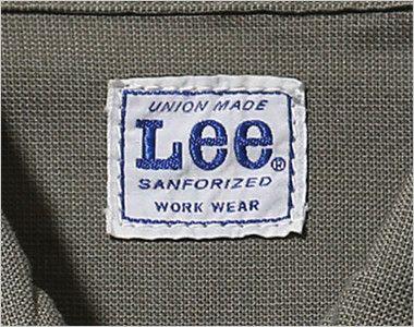 LWB06002 Lee ジップアップジャケット(男性用) Leeワークウェアオリジナルブランドネームタグ
