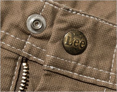 Lee LWP63003 [通年]ペインターパンツ(女性用) Leeロゴ入りのオリジナルボタン