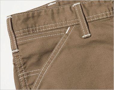 Lee LWP63003 [通年]ペインターパンツ(女性用) サイドには、出し入れしやすい斜めポケット。コインポケット付き