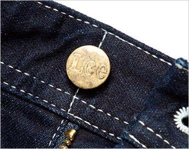 Lee LWP66001 ペインターパンツ(男性用) Leeロゴ入りのオリジナルボタン