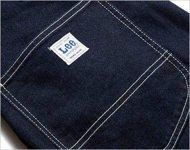 Lee LWP66001 ペインターパンツ(男性用) 補強布付きの後ろポケット