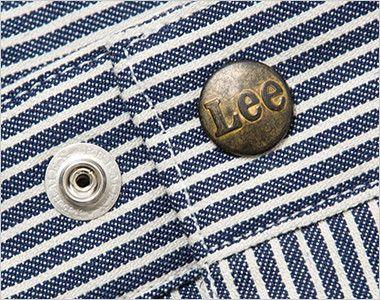 Lee LWP66002 カーゴパンツ(男性用) Leeロゴ入りのオリジナルボタン