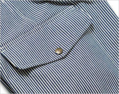 Lee LWP66002 カーゴパンツ(男性用) 深さのあるフラップ付きのサイドポケット