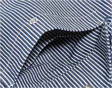 Lee LWP66002 カーゴパンツ(男性用) ポケット内側にあるコインポケット
