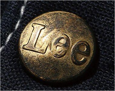 Lee LWP66004 [通年]カーゴパンツ(男性用) Leeのロゴ入りのオリジナルボタン