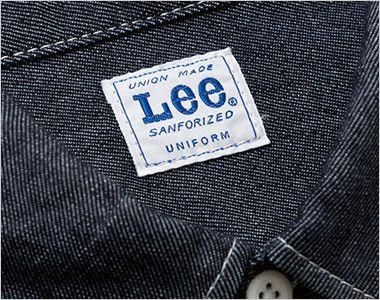 Lee LWS46001 メンズワーク長袖シャツ(男性用) Leeワークウェアオリジナルブランドネームタグ
