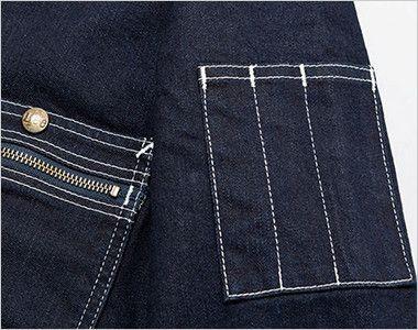 Lee LWU39001 [通年]ユニオンオール(長袖ツナギ)(男女兼用) ペン挿しポケット